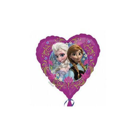 17 inch-es Jégvarázs - Disney Frozen Love - Fólia Léggömb