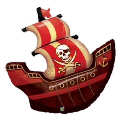 40 inch-es Kalózhajó - Pirate Ship Fólia Lufi