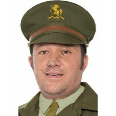 Zöld II. világháborús őr sapka
