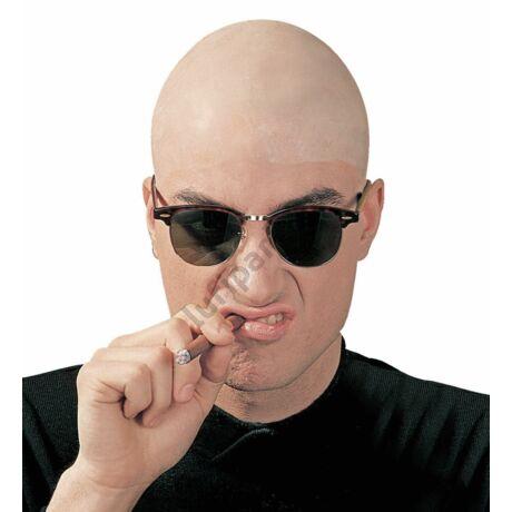 Skinhead kopaszfej latex fejfedő