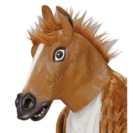 Barna ló latex maszk