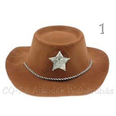 cowboy kalap flokkolt
