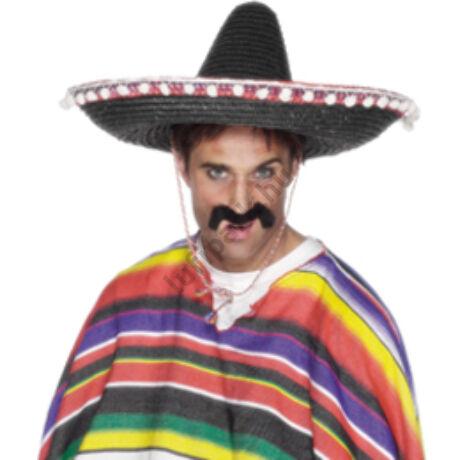 Sombrero fekete mexikói parti kalap