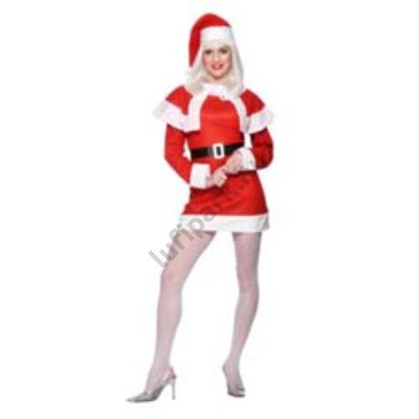Miss Santa Mikulás Jelmez Hölgyeknek, S-es