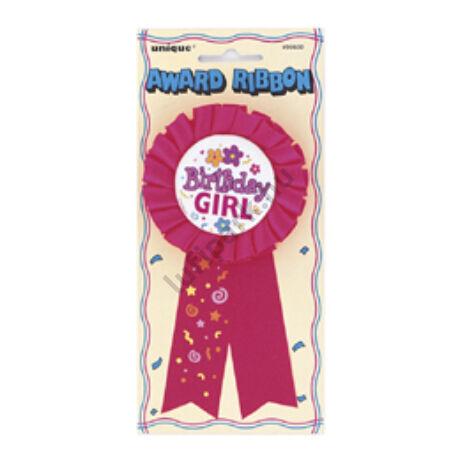 Birthday Girl Feliratú Szülinapi Szalagos Parti Kitűző