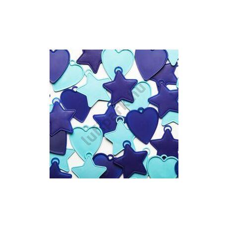Kék Szíves és Csillagos Léggömbsúly