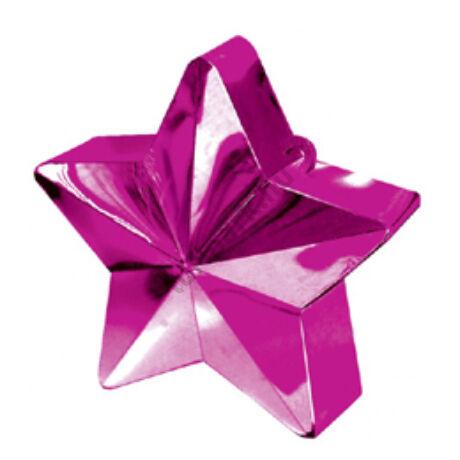 Magenta Rózsaszín Csillag Léggömbsúly - 170 gramm