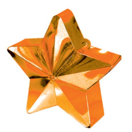 Narancs Csillag Léggömbsúly - 170 gramm
