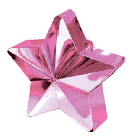 Pink Csillag Léggömbsúly - 170 gramm