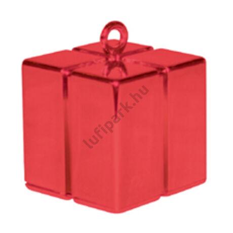 Piros (Red) Ajándékdoboz Léggömbsúly - 110 gramm