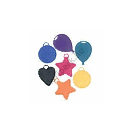 Smile, Csillag, Szív és Lufi Léggömbnehezék - 15 gramm