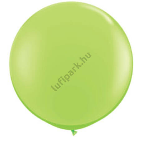 3 feet-es Lime Green (Fashion) Kerek Latex Lufi