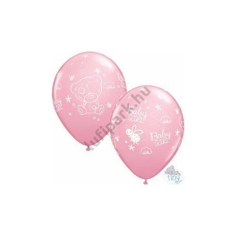 11 inch-es Tiny Tatty Teddy Baby Girl Pink Lufi