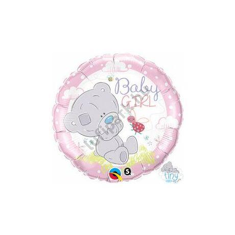18 inch-es Tiny Tatty Teddy Baby Girl Fólia Lufi
