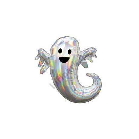 28 inch-es Irizáló Szellem Super Shape Fólia Lufi Halloween-re