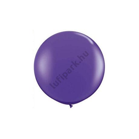 3 feet-es Purple Violet (Fashion) Kerek Latex Lufi