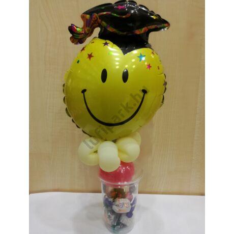 Smiley - ballagásra, diplomaosztóra