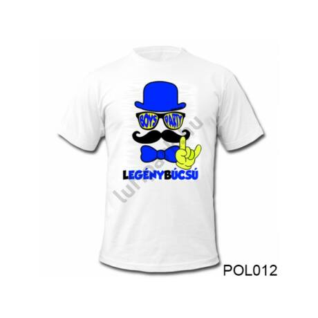 Legénybúcsús póló - XL