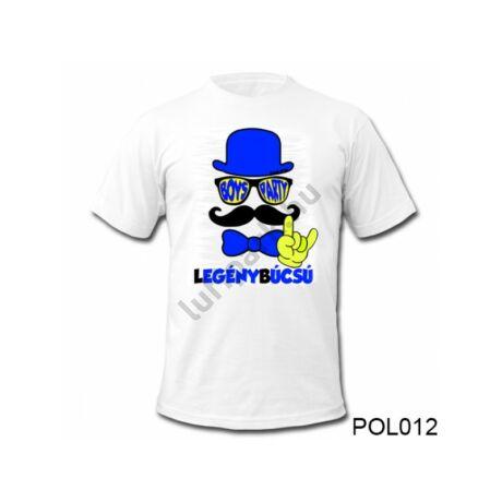 Legénybúcsús póló - L