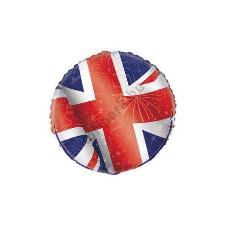 18 inch-es Angol Zászló Mintás Fólia Lufi