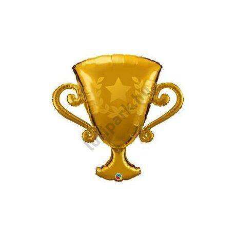 39 inch-es Golden Trophy/ Kupa /Arany serleg/ Trófea Fólia Lufi