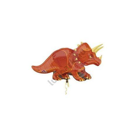 Triceratops Dinoszaurusz Super Shape Fólia Lufi