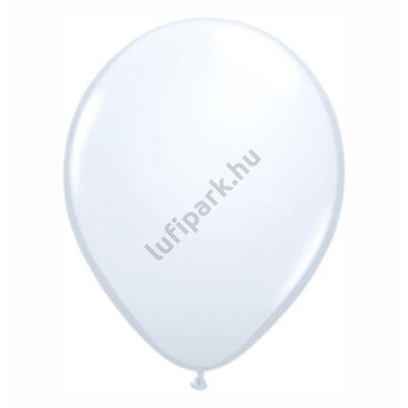 11 inch-es White (Standard) Kerek Lufi (25 db/csomag)