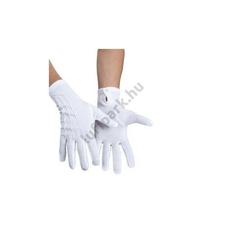 Fehér Rövid Kesztyű - XL-es