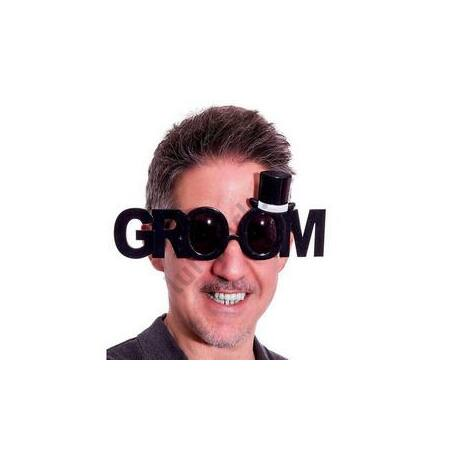 Groom Feliratú Vőlegény Parti Szemüveg Legénybúcsúra