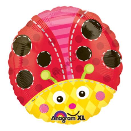 18 inch-es Katicabogár - Cute Lady Bug Fólia Lufi