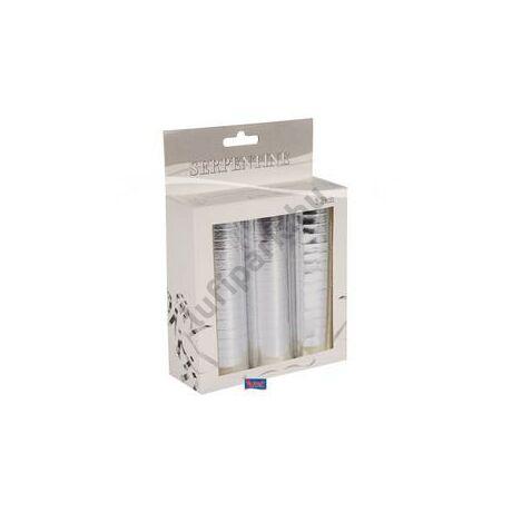 Metál Ezüst Szerpentin Csomag - 3 db-os