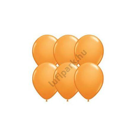 11 inch-es Orange (Standard) Kerek Lufi (25 db/csomag)