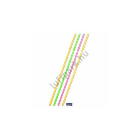 Neon Assortment Jumbo Szívószál - 25 db-os, 44 cm