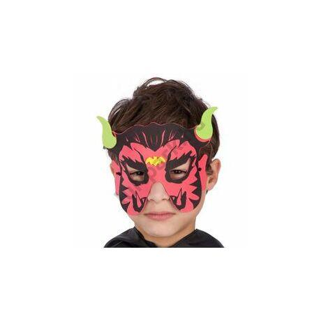Ördög Szemmaszk Gyerekeknek Halloween-ra