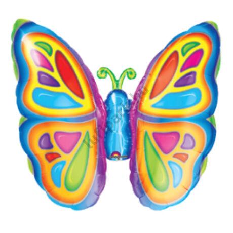 Pillangó - Bright Butterfly Super Shape Fólia Lufi