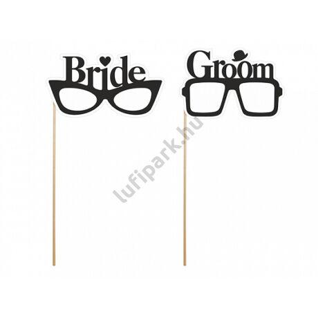 Menyasszony-vőlegény szemüveg
