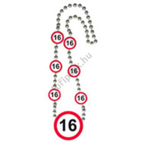 16-os sebességkorlátozó parti nyaklánc