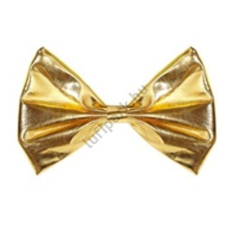 Metál arany csokornyakkendő