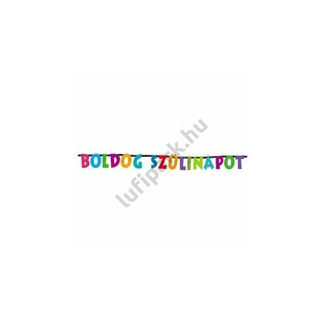 Boldog Szülinapot - Betűfüzér - 2,3 m