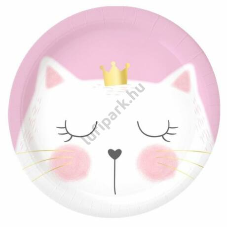 Cicás parti tányér, 23 cm