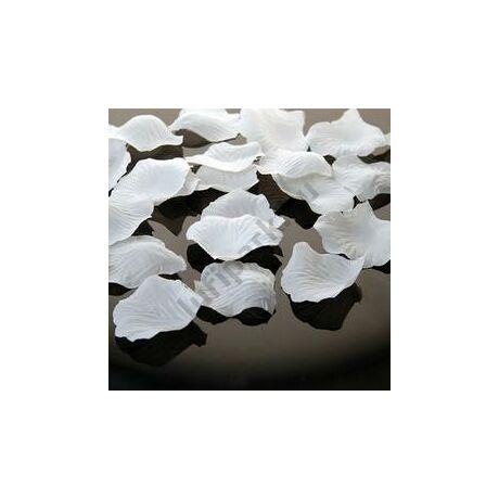 Fehér Dekorációs Virágszirom - 100 db-os