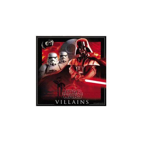 Star Wars – Csillagok Háborúja Hősök Party Szalvéta - 33 cm x 33 cm, 20 db-os