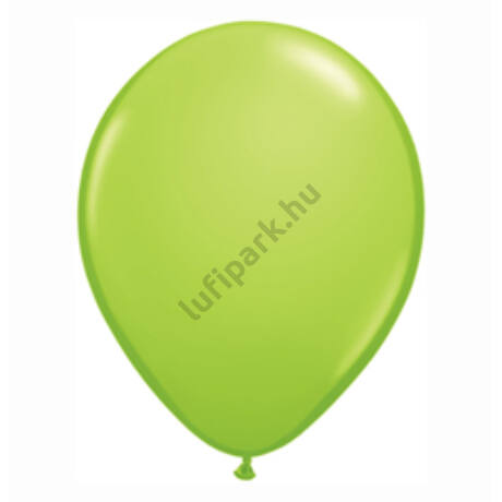 11 inch-es lime zöld kerek lufi