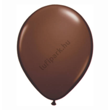 11 inch-es Chocolate Brown - Csokoládébarna Kerek Léggömb