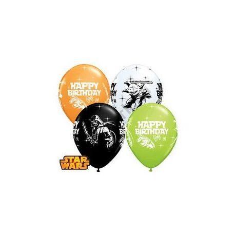 11 inch-es Star Wars Birthday Spec. Asst. Szülinapi Léggömb