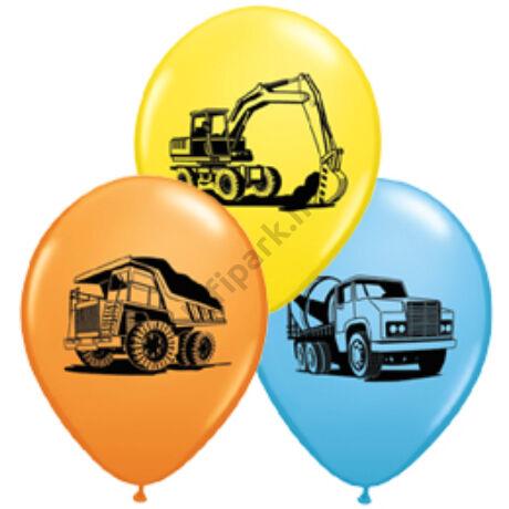 11 inch-es Munkagépek - Construction Trucks Special Asst. Lufi