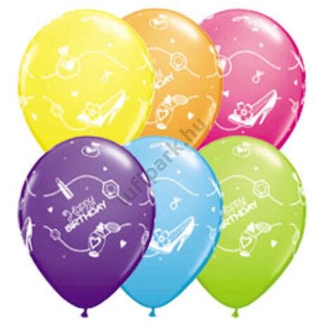 11 inch-es Birthday Shopping Spree Szülinapi Lufi