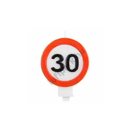 30-as Sebességkorlátozó Gyertya