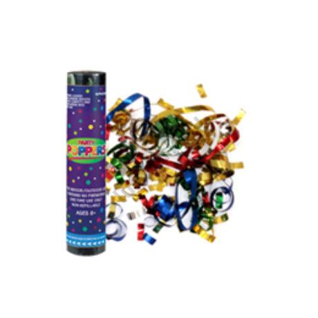 Party Poppers - Szerpentin Kilövő 3 db/csomag