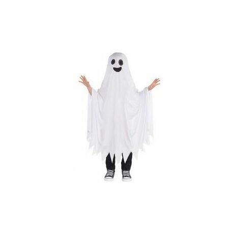 41fe71db7 Szellem Jelmez Gyerekeknek Halloween-re, 6-10 Éveseknek